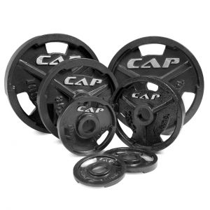 CAP-OLYMPIC-CAST-IRON-GRIP-PLATE-BLACK