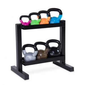 CAP-VINYL-DIPPED-KETTLEBELL-SET-WITH-RACK-140-LB
